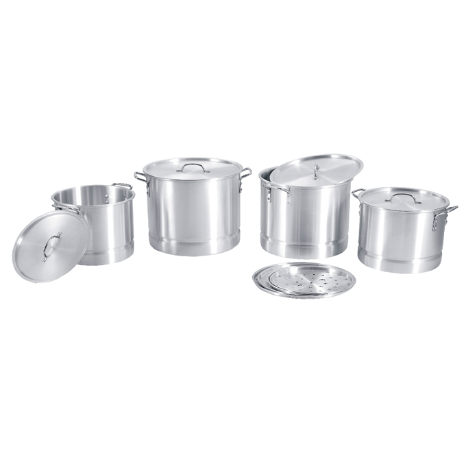 Stock Pot Set With Steamer