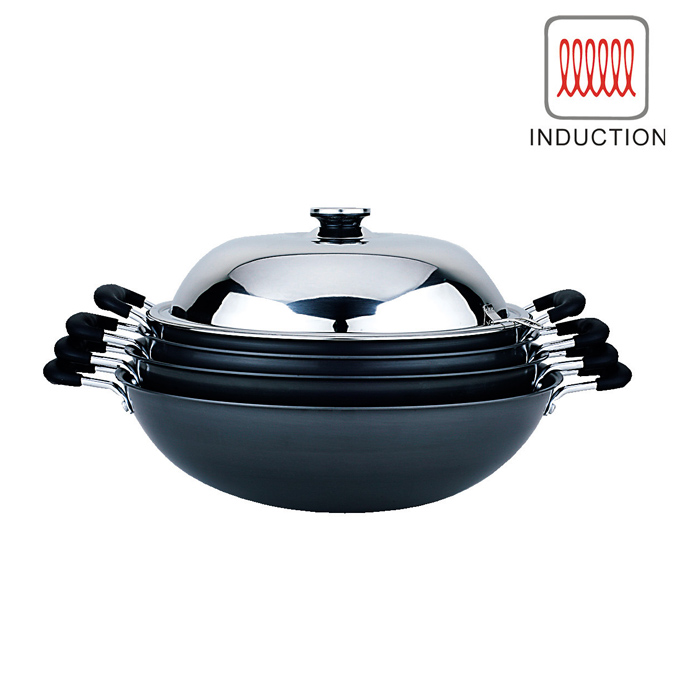 Covered Induction Wok