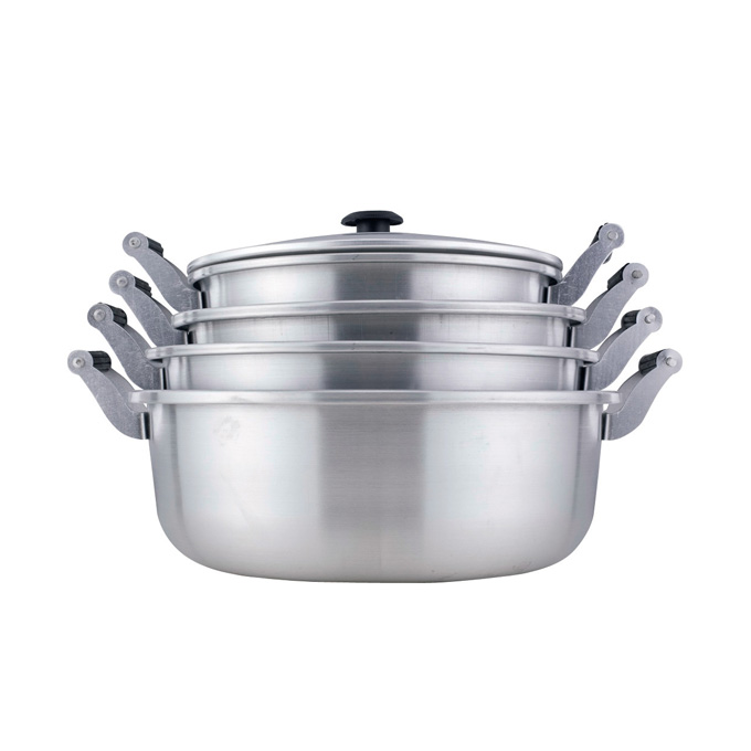 Covered Cooker Pot